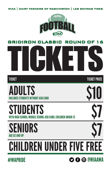 State Football Ticket Prices