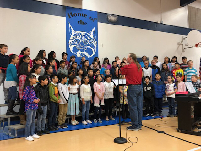 Singing for our veterans
