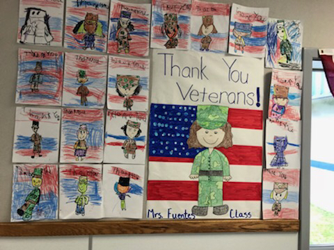 Veterans Day art work