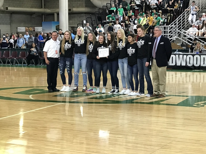 Academic State 1A Girls Basketball Champs!